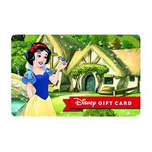Big Five Gift Card - your wdw store disney collectible gift card dream big snow white