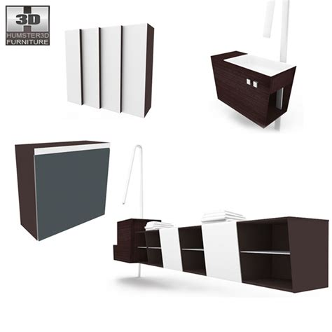 bathroom furniture sets bathroom furniture 05 set 3d model hum3d