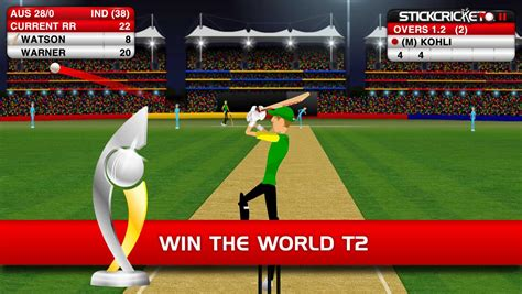 Cricket Takes The Bling Route by Stick Cricket Android Apps On Play