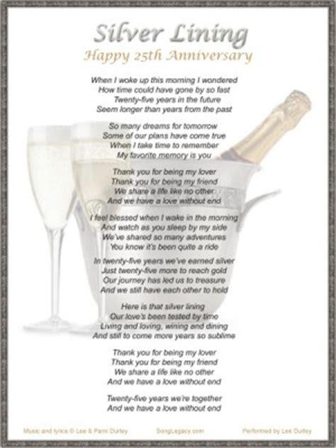 25th wedding anniversary quotes quotesgram