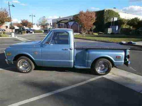 1968 Chevrolet Stepside Buy Used 1968 Chevrolet T10 Stepside In Stockton