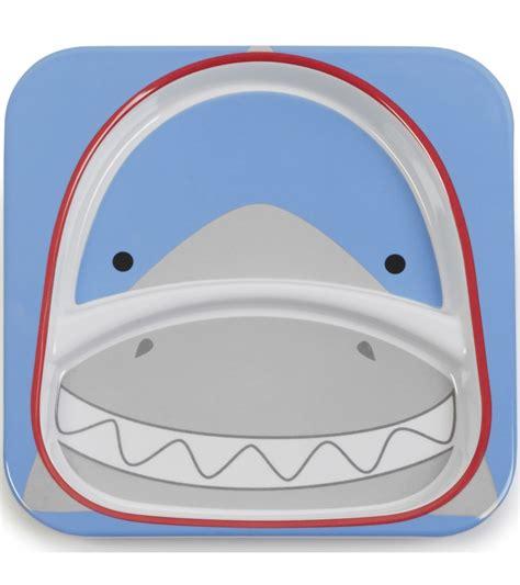 Skip Hop Zoo Lunchies Shark 1 skip hop zoo divided plate in shark
