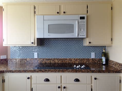 pictures of glass tile backsplash in kitchen ocean mini glass subway tile kitchen backsplash subway