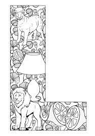 intricate alphabet coloring pages image result for intricate alphabet coloring pages e
