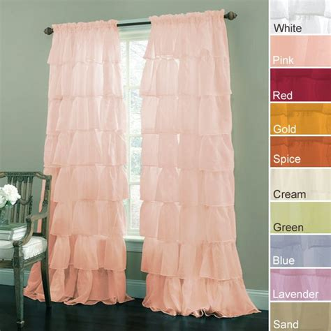 Coral Ruffle Curtains 1000 Images About Nursery Curtains On Pinterest Window Panels Coral Nursery And Ruffle Curtains