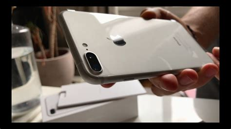 unboxing apple iphone 7 plus silver shoot in 4k by iphone 7 plus view d 233 ballage test