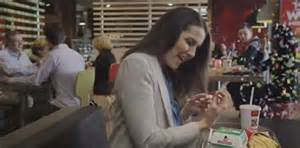 mcdonalds uk monopoly commercial actress the bachelor s heather maltman stars in new mcdonalds