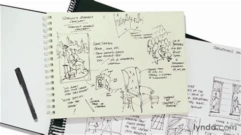 sketchbook pro record what are thumbnail sketches