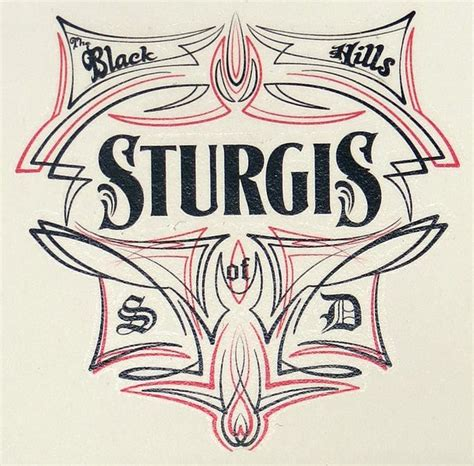 black hills tattoo black rally and gold sturgis tribal temporary