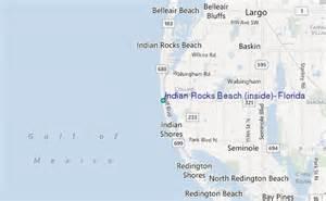 indian rocks florida map indian rocks inside florida tide station location
