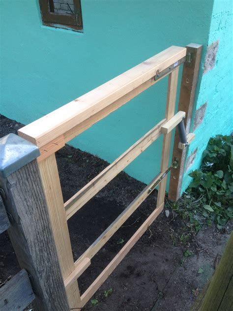 Bauanleitung Gartentor