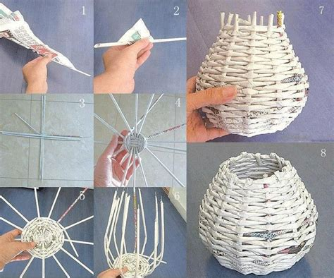 How To Make A Paper B - diy paper basket everything