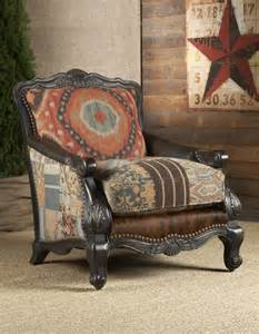 southwestern buckley chair chairs ottomans living room