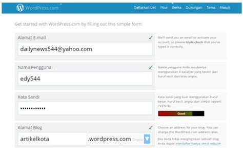 tutorial cara membuat blog di wordpress tutorial cara membuat blog di wordpress dg mudah