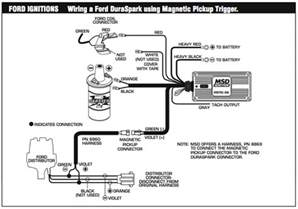 msd 6a wiring diagram ford ignitions wiring a ford puraspark using magnetic trigger msd s