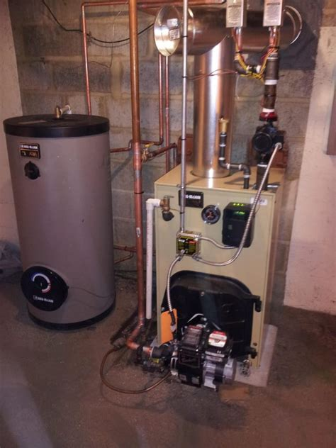 weil mclain boiler with indirect water heater