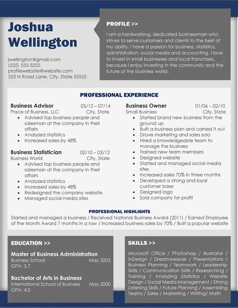 Resume D Gray by 20 Best Resumes Images On Resume