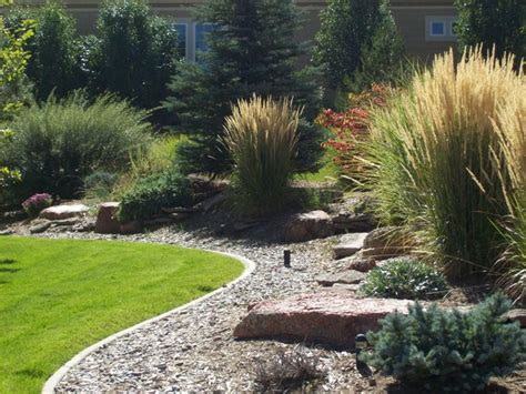 xeriscape landscaping this design provides real curb appeal as well as privacy for those in the
