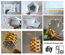 diy projects for cardboard pendant light diy projects usefuldiy com