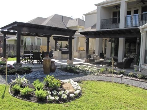 Patio Ideas Houston Outdoor Kitchen Designs Houston Backyard Landscaping