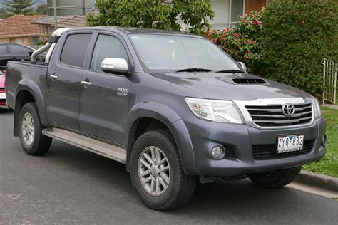Toyota Hilux 2013 File 2013 Toyota Hilux Kun26r My12 Sr5 4 Door Utility