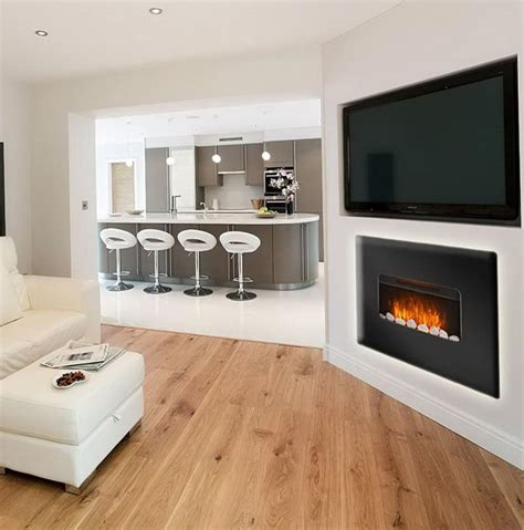 tv electric fireplace electric fireplace adds romanticism to your living room