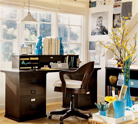decorating ideas for a home office tips to make a comfy home office beautiful classic