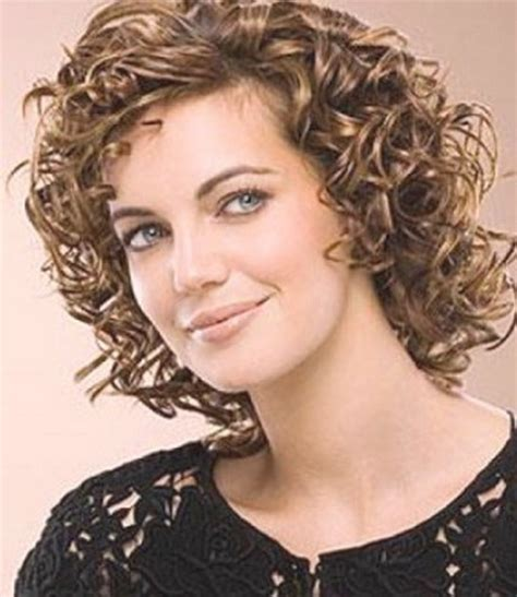 hairstyles for permed short hair with bangs short permed hair styles
