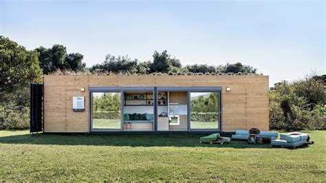 Adding Shipping Container To House - tiny house town cocoon module shipping container home