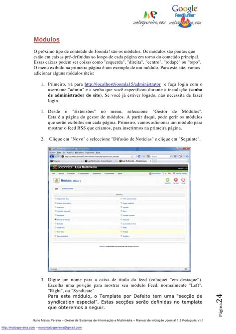 manual for joomla manual joomla 1 5