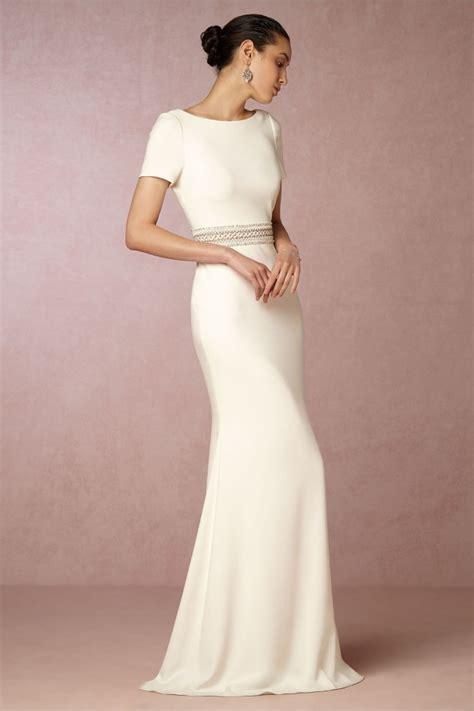 Schlichte Hochzeitskleider by Schlichte Brautkleider Diese Modelle Sind Jetzt Trend