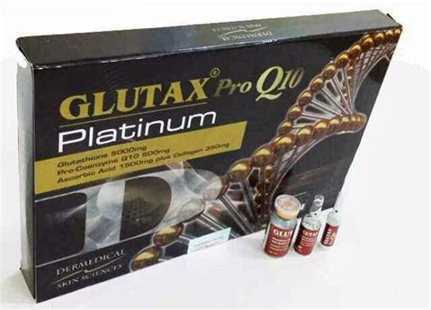 Review Glutax Platinum Collagen Whitening glutax pro q10 platinum toko obat suntik putih suntik