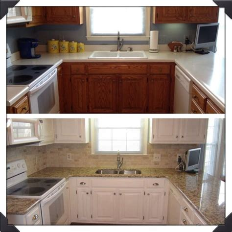 painting kitchen cabinets white before and after 38 best for the home images on pinterest for the home