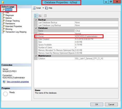 Change Table Name In Sql How To Change The Database Owner In Sql Server How To Guides And Knowledge Feed
