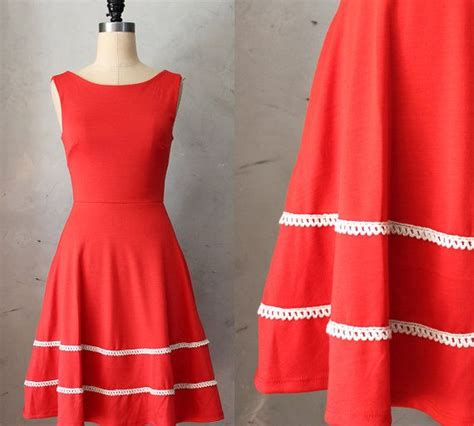 Valen Pocket Dress derica poppy orange dress with pockets pleated skirt ivory crochet bridesmaid