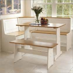 Table With Bench Set For Kitchen A Kitchen Table With Bench Seating A Child Friendly Dining Set