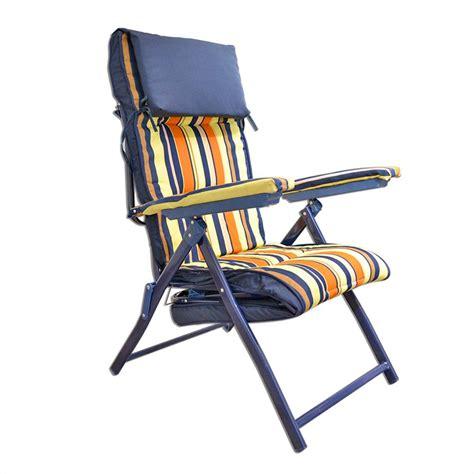 sedia sdraio imbottita sedia a sdraio imbottita 64x30x98 cm colore rosso