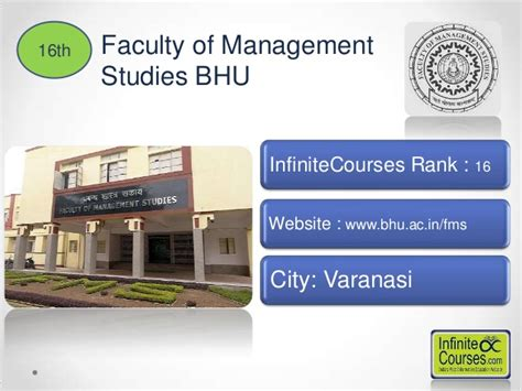 Fms Bhu Mba Quora by Top 20 Mba Colleges In India