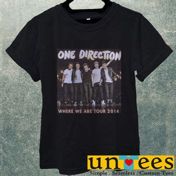 Kaos Oblong Tshirt One best one direction tour shirt products on wanelo