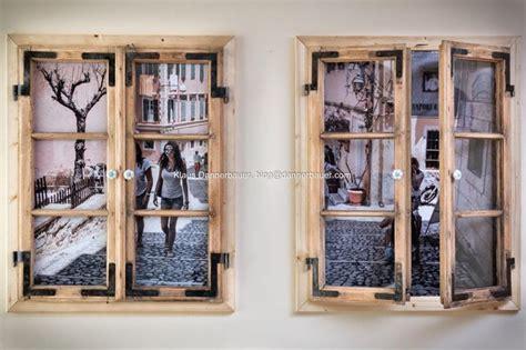 holzfenster deko klaus dannerbauer bilderrahmen aus alten holz fenster