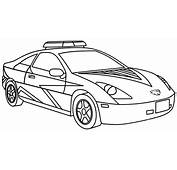 Cool Police Car Coloring Pages  ColoringStar