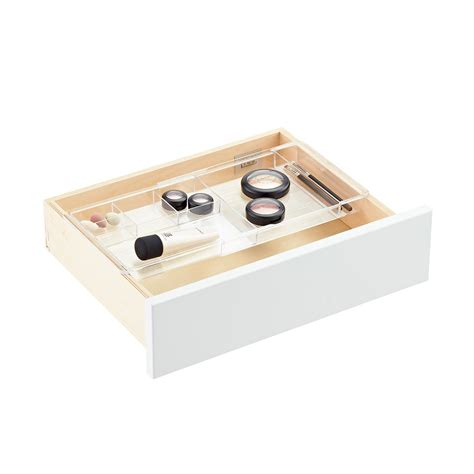 expandable desk drawer organizer interdesign linus expandable drawer organizer the