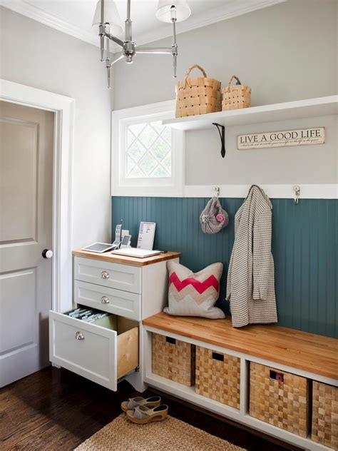ideas for mudroom storage mudroom storage ideas hgtv