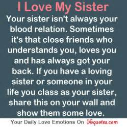 I Love You Sister Quotes by I Love My Big Sister Quotes Quotesgram