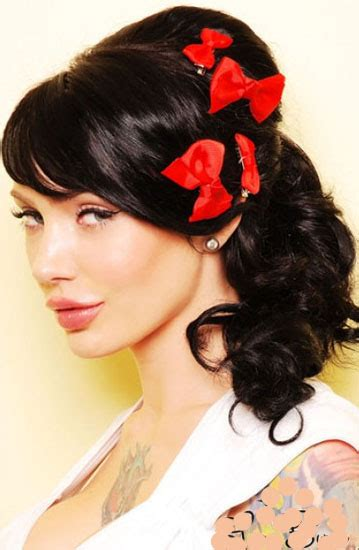 Pin Up Hairstyle by Pin Up Hairstyles For Hair Beautiful Hairstyles