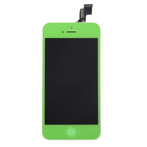 Lcd Iphone 5c lcd screens green lcd screen digitizer assembly