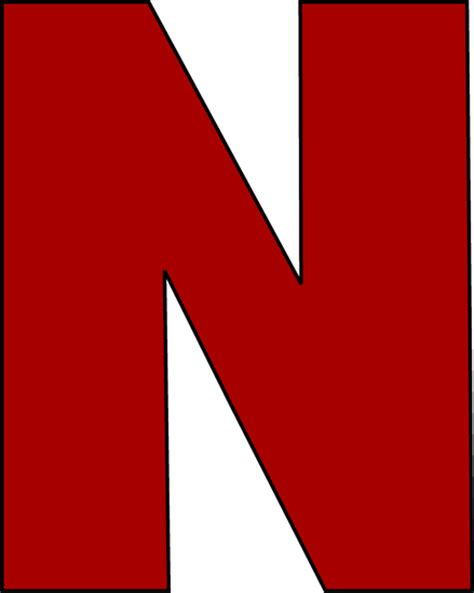 n clipart letter n clipart cliparts co