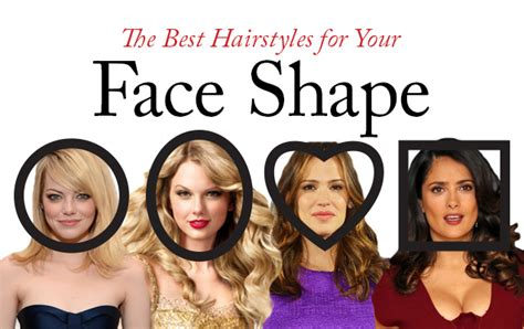 the best new haircuts for your face shape daily makeover how to determine your best hairstyle for your face shape