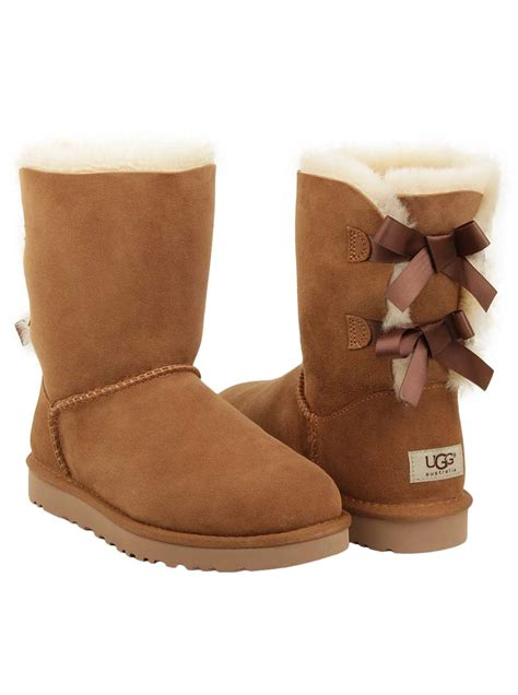 Pugg Boots by Ugg 174 S Bailey Bow Boot In Chestnut