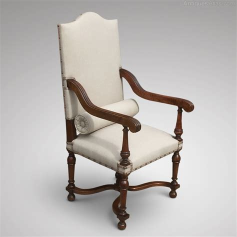 high back open armchair antiques atlas
